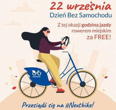 Dzień Bez Samochodu na rowerach miejskich!